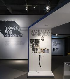 Movers and Shapers 2008 on Behance Exhibition Display, Exhibition Poster, Exhibition Space, 2d Design, Wall Design, Layout Design, Exibition Design, Signage Display, Design Museum