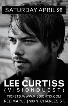 Lee Curtiss @ Red Maple this Saturday