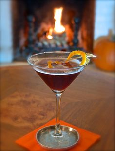 BLACK BETTY TO THE RESCUE - Bourbon and a little cassis makes for a delish cocktail.
