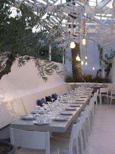 Phos restaurant, Mikonos, 2012