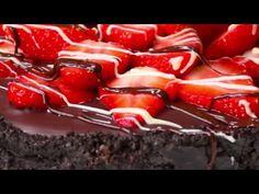 Proper Tasty – Easy Chocolate And Strawberry Tart - YouTube