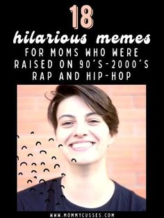 18 hilarious mom memes for moms who grew up and love 90s and early 2000s rap and hip-hop music. Best of Mommy Cusses | Funny Mom Memes | Funny Mom Posts #millennials #momlife #lolfunny #hilariousmommemes Funny Mom Jokes, Hilarious Memes, Mom Humor, Becoming Mom, The Real Slim Shady, Busta Rhymes, Rap God, Parenting Memes, Early 2000s