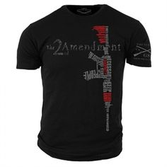 You can get a discount on this Grunt Style - Men's 2nd Amendment Shirt on GovX! If you sign up here, you get $15 off your first order!