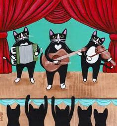Cat Folk Art Paintings - Bing Images