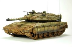 Merkava MK4 1/35 Scale Model