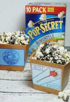 Your next movie night is set! Plan this Boxtrolls Movie Night, grab a bag of Pop Secret Popcorn, and settle in for quality time spent with your family.