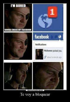 Te voy a bloquear carteles albano98 graciosas humor serie the walking dead facebook me re causo xddddd devilbrigade desmotivaciones