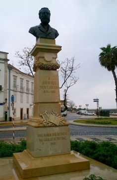 Sculpture in Faro, Portugal Marvao, Evora, World Discovery, Faro Portugal, Cascais, Baroque Architecture, Green Mountain, Old World Charm, Moorish