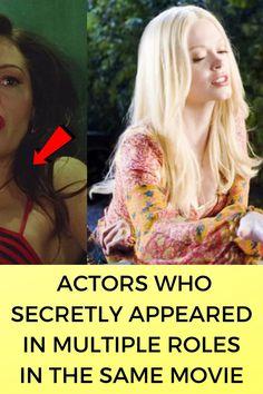 #Actors #Secretly #Appeared #Multiple #Roles #Same #Movie