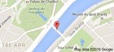 Pont d'Iéna: carte