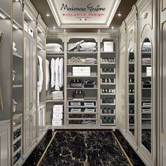 LUXURY WALK-IN CLOSET #luxurywalkincloset
