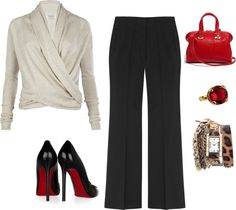 """""""for work"""" by stlshopaholic on Polyvore"""