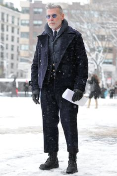 I have such a fashion crush on this man. Nick Wooster.
