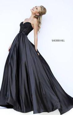 sherri hill not so little black dress