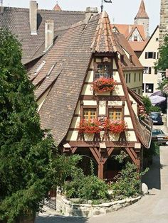 Rothenburg, Germany - My favorite town that we visited. Amazing.