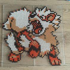 Arcanine - Pokemon perler beads by sii_xoxo_