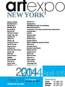 Mostra Internazionale d'Arte Artexpo New York New York