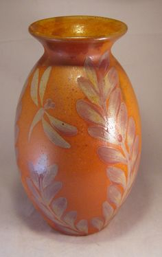 Tall Ginger Red Bamboo Vase by DMWPotteryStudio on Etsy, $50.00