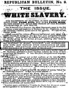 an introduction to the issue of slavery Introduction to slavery and genocidepersonal freedom is an essential cornerstone of human rights before the mid-twentieth century, human rights issues were often debated within the context of slavery is not an historical relic while slavery was outlawed in the united states in 1864 by the.
