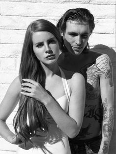 Lana Del Rey Bradley Soileau on the set of Blue Jeans music video by Nicole Nodland