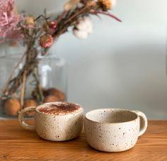 Ceramic Coffee Cups, Ceramic Mugs, Stoneware, Coffee Mugs, Coffee Beans, Cappuccino Mugs, Ceramic Art, Pottery Mugs, Ceramic Pottery
