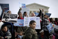 The Supreme Court will consider the Trump administration's request to intervene in the ongoing legal fight over the DACA program on Friday. Supreme Court Building, Us Supreme Court, Barack Obama, I Voted, Obama Administration, Trump, One In A Million, The Guardian, Proposal