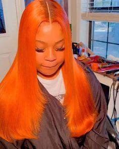 Baddie Hairstyles, Weave Hairstyles, Pretty Hairstyles, Straight Hairstyles, Dyed Natural Hair, Natural Hair Styles, Long Hair Styles, Reverse Ombre Hair, Hair Laid