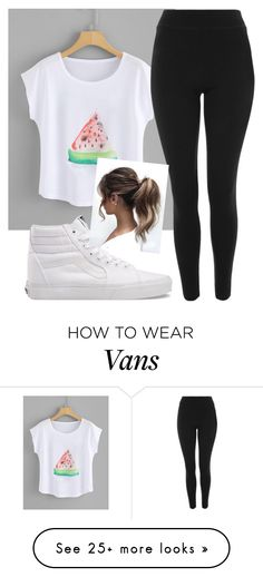 """""""Went Shopping with BFF"""" by ambyclark on Polyvore featuring Topshop and Vans"""