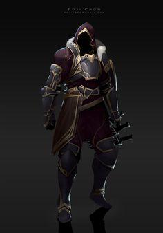 knight-Royal by Poji Chow on ArtStation. Fantasy Concept Art, Fantasy Armor, Fantasy Character Design, Fantasy Weapons, Character Design Inspiration, Character Concept, Character Art, Medieval Armor, Medieval Fantasy