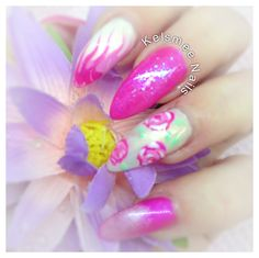Young Nails acrylic maniq naildesign