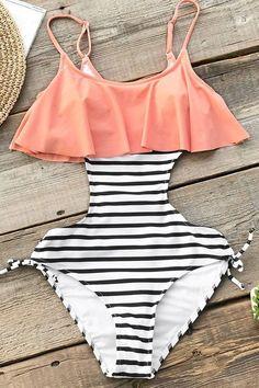 Summer bathing suits, summer swimwear, cute bathing suits, vacation out Summer Bathing Suits, Cute Bathing Suits, Summer Swimwear, Trendy Swimwear, Hottest Swimsuits, Bikini Floral, Bikini Modells, Curvy Bikini, Cute One Piece Swimsuits
