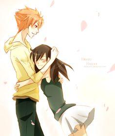 + Hikaru and Haruhi + by 4Dreams.deviantart.com on @deviantART