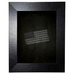 "Brayden Studio Leather Chalkboard Size: 42"" x 66"""