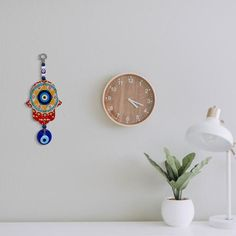 How to Set Up a Home Office in a Pinch – Alef Bet Jewelry by Paula Lucky Blue, Orange Walls, Evil Eye Jewelry, Star Of David, Hamsa Hand, Wall Art Decor, Dangles, Stars, Diy Painting
