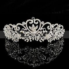 I kinda want this really bad. ---Joy of Love Themed Glitter Wedding Tiara Royal Tiaras, Tiaras And Crowns, Bridal Accessories, Jewelry Accessories, Deco Harry Potter, Wedding Tiaras, Glitter Wedding, Crown Jewels, Princess Wedding