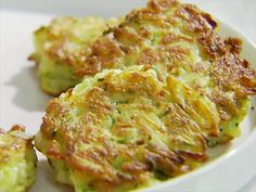 Sandra's Zucchini Cakes Video : Food Network - FoodNetwork.com