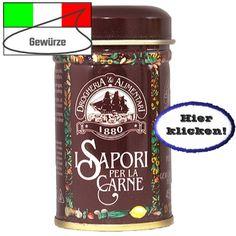 Wenn Sie Ihr Fleisch auf italienische Art würzen wollen! Hier klicken: http://blogde.rohinie.com/2013/02/gewuerze/