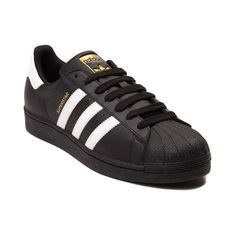 Stay classic this season with the new Superstar Athletic Shoe from adidas! Lace up the classic style and signature comfort of the Superstar Athletic Shoe, sporting durable leather uppers with iconic rubber shell toe, and signature adidas side stripes.   <br><br><u>Features include</u>:<br> > Smooth leather upper with breathable mesh lining<br> > Padded collar for comfort<br> > Lace closure for a secure fit<br> > Signature side stripes<br> > Classic rubber shell toe provides durability<br…