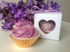 5 pink mini Cupcake soap  Decorative soap by DivineSoapyDelights, $14.99