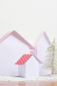 DIY - maisons en papier