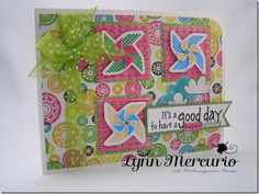 It's a good day for a happy birthday! Created for the Waltzingmouse Stamps Sketch Challenge 9/15/12