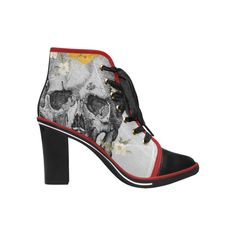 WICCANOLOGIE SKULL NO. 9 / WOMEN'S HEELED BOOTS | Be Cool Store Cool Store, Fit, Heeled Boots, Peep Toe, Skull, Heels, Shopping, Collection, Fashion