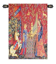 The Hearing Louie European Wall Tapestry