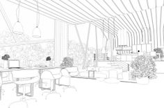 interior outline 528x351 Making of ASGVIS VRay for SketchUP Winning Render