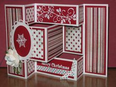 Tri-Shutter Christmas by Dotsostew - Cards and Paper Crafts at Splitcoaststampers
