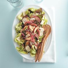 Warm chicken apple salad - Chatelaine.com