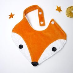 Your place to buy and sell all things handmade Sewing For Kids, Baby Sewing, Baby Orange, Diy Bebe, Fox Head, Birth Gift, Woodland Decor, Baby Bibs, Baby Room