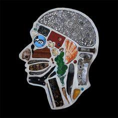 Heads: Surreal Portraits by Edwige Massart & Xavier Wynn | Inspiration Grid | Design Inspiration