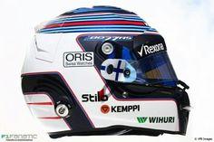 Bottas' 2016 helmet