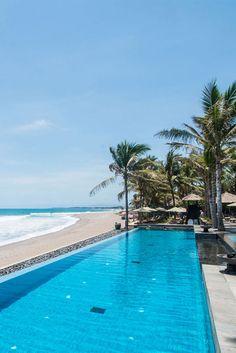 The Legian Bali Hotel - Infinity Pool  - Boutique Hotel Seminyak Bali Indonesia